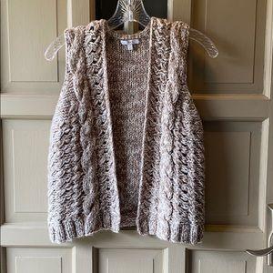 Gap chunky knit vest size XS